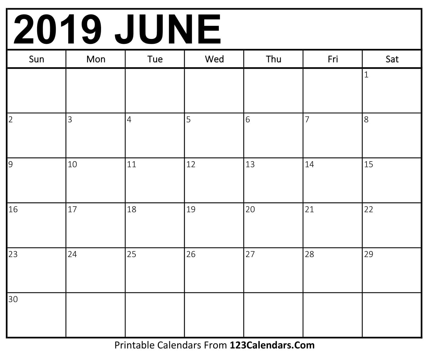 printable june 2018 calendar templates 123calendars com