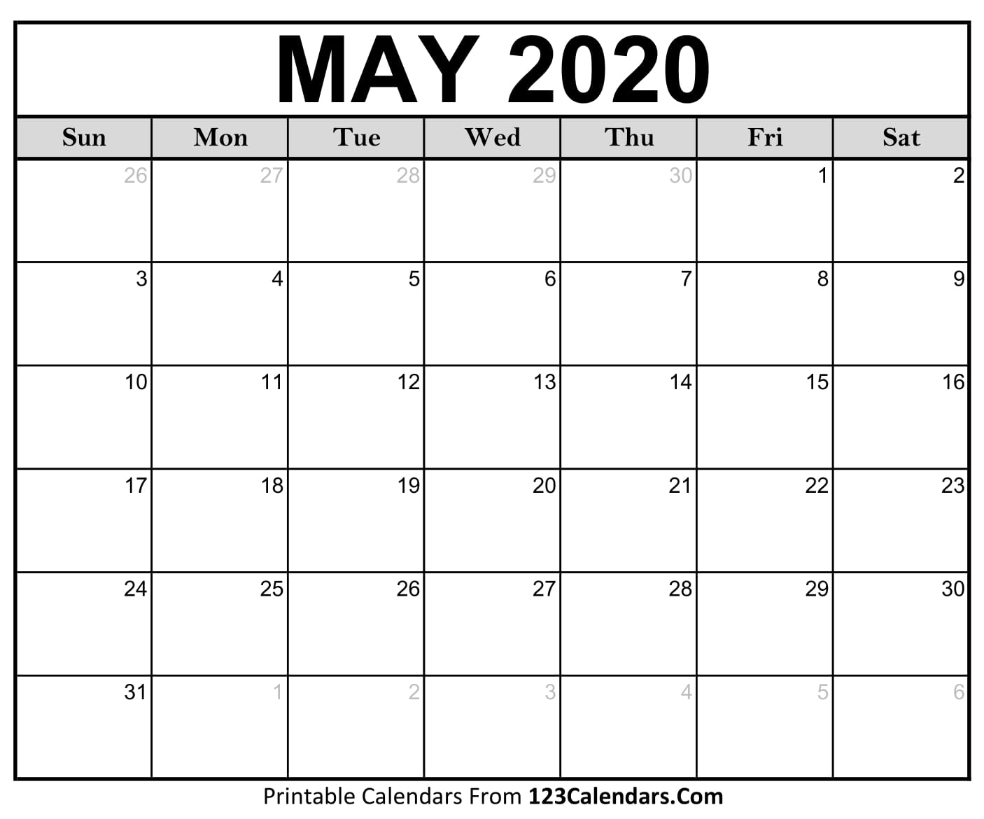 photograph about Printable May Calendars identify Could 2020 Printable Calendar